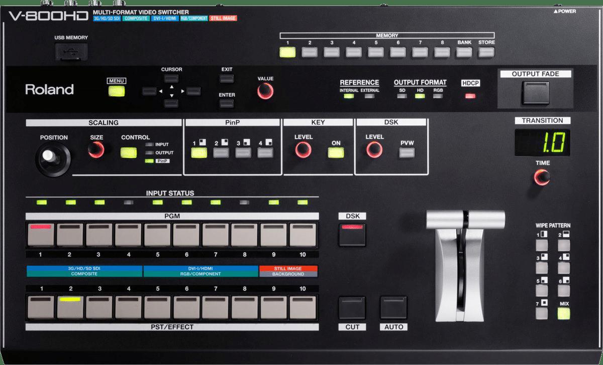 Roland V800 Mixer mieten